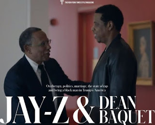 jay z chat with Dean Baquet