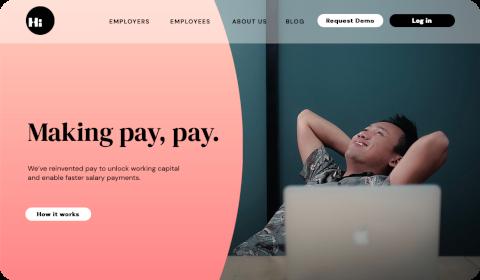 Hi – Making pay, pay
