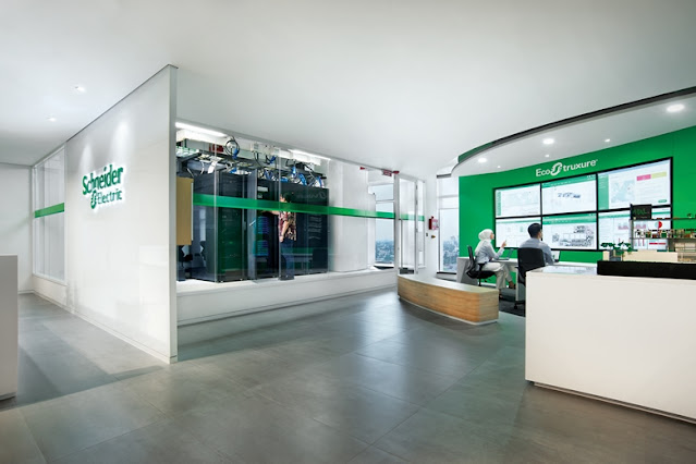 Kantor pintar Schneider Electric