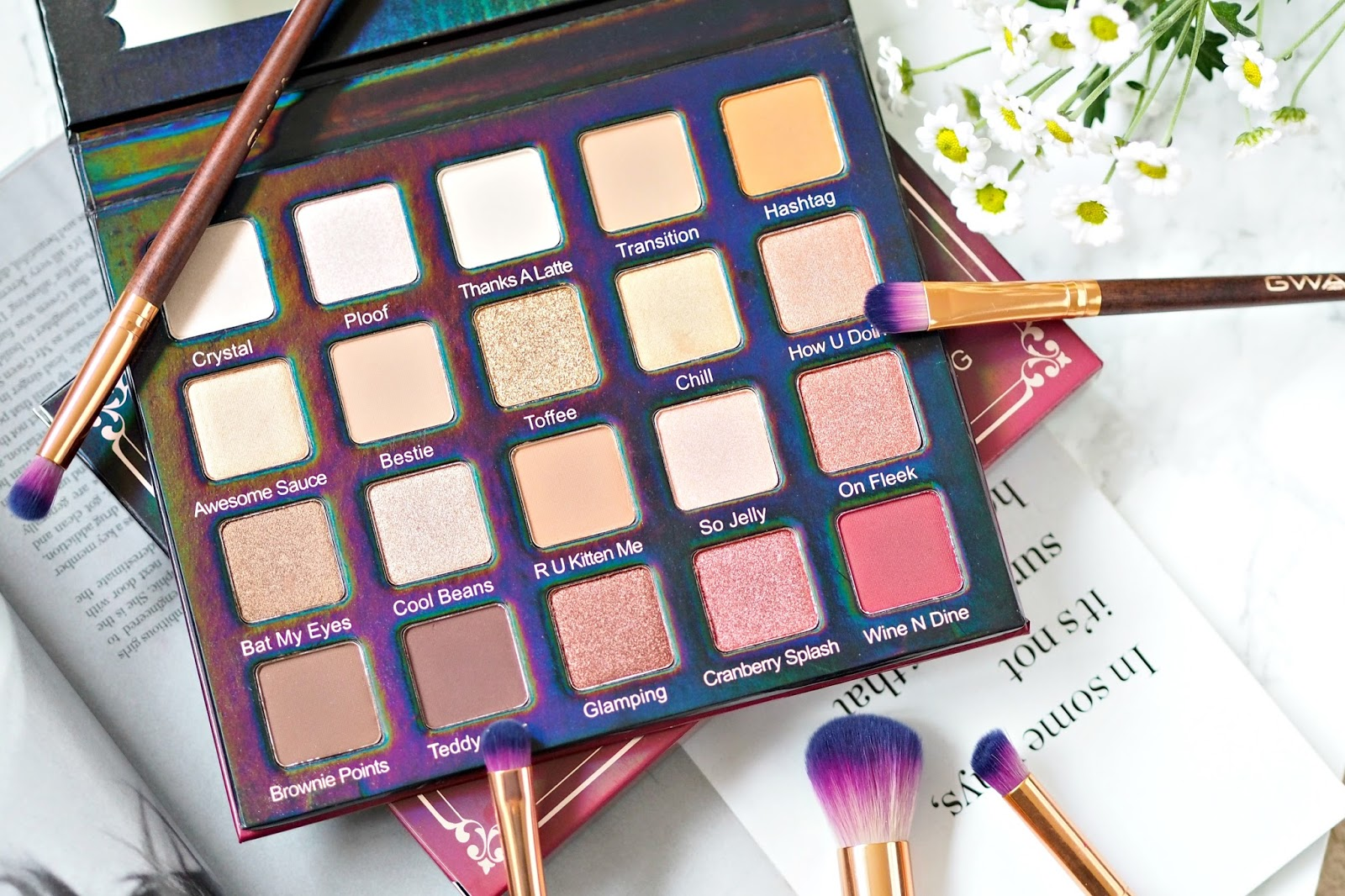 Violet Voss Holy Grail palette Review and Swatches UK
