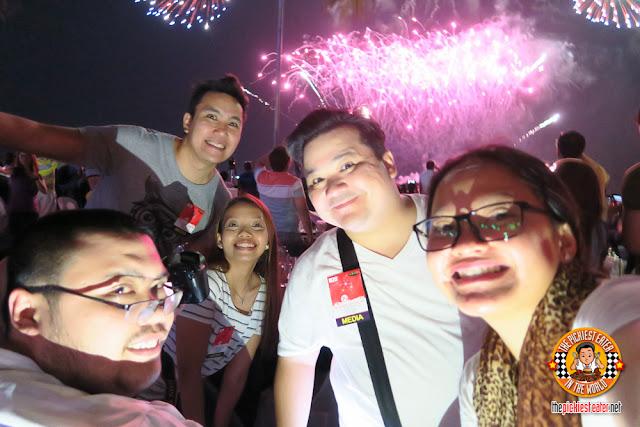 SM Moa Pyro Olympics