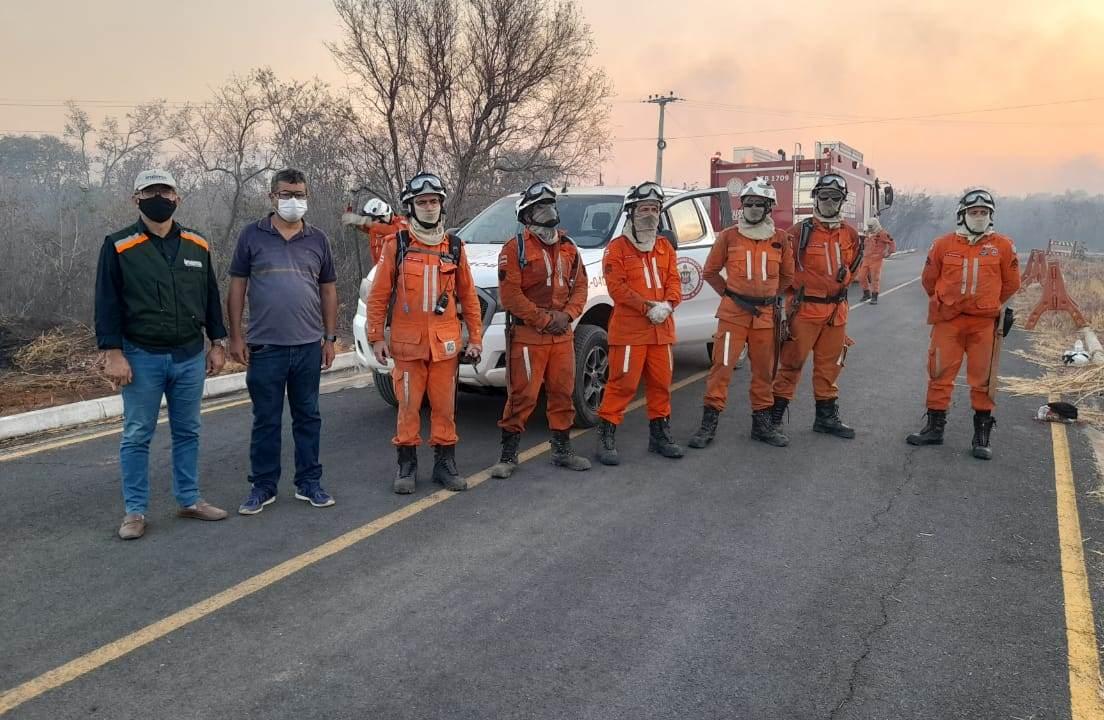 Prefeitura de Barreiras e parceiros se unem para combater incêndios florestais