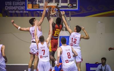 FIBA U18 Europe - Usman Garuba