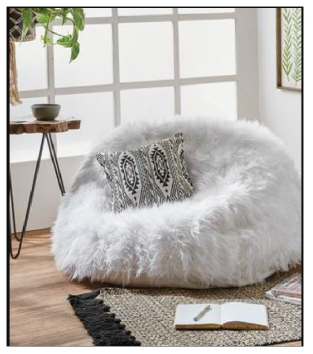 best light grey bean bag jumbo cord outfitter lounge chair for living room, and family room 3