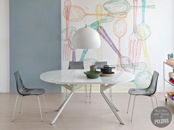 Hogar diez personaliza tus paredes con fotomurales - Fotomurales pared ...