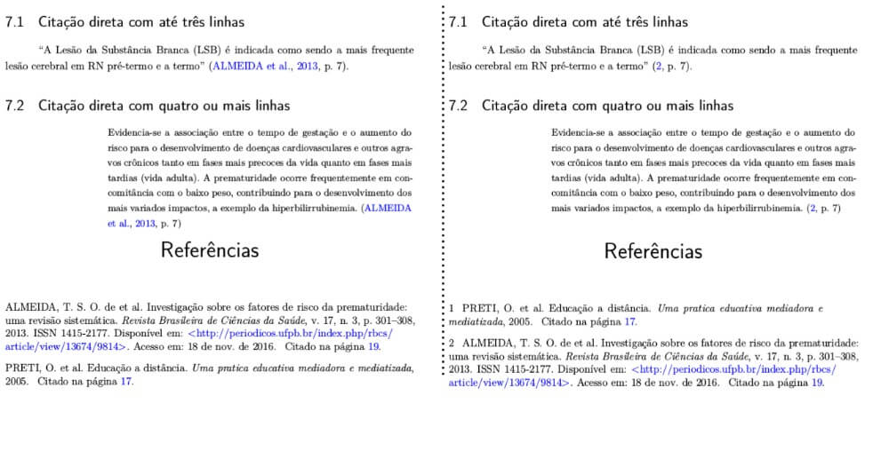 figura 2 - sistemas de referência