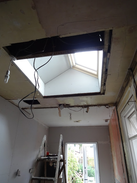 fitting a velux window in flat ceiling