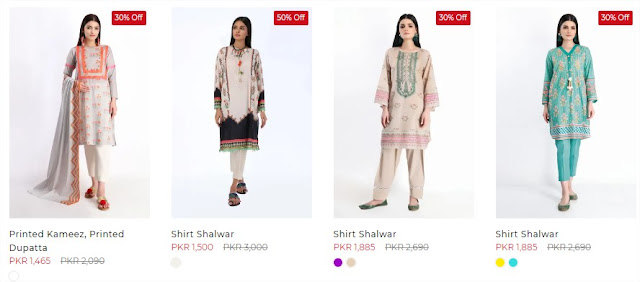 Khaadi Unstitched sale collection 2020