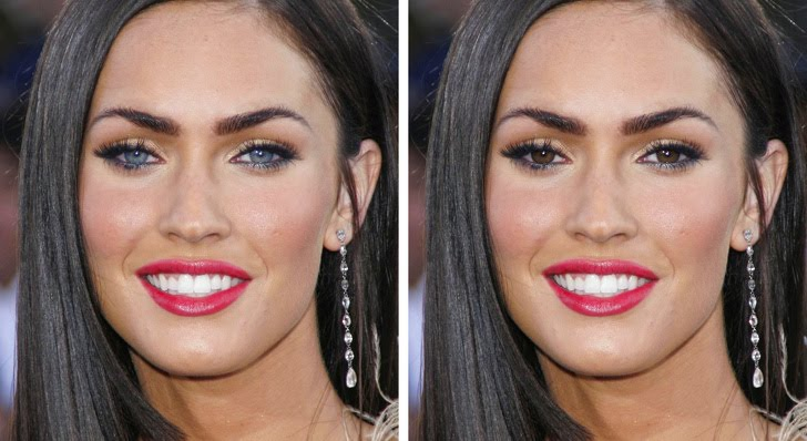 Megan Fox  ميغان فوكس - قامت بتغيير لون عينها