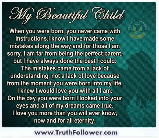 Quotes About Love: My Beautiful Child