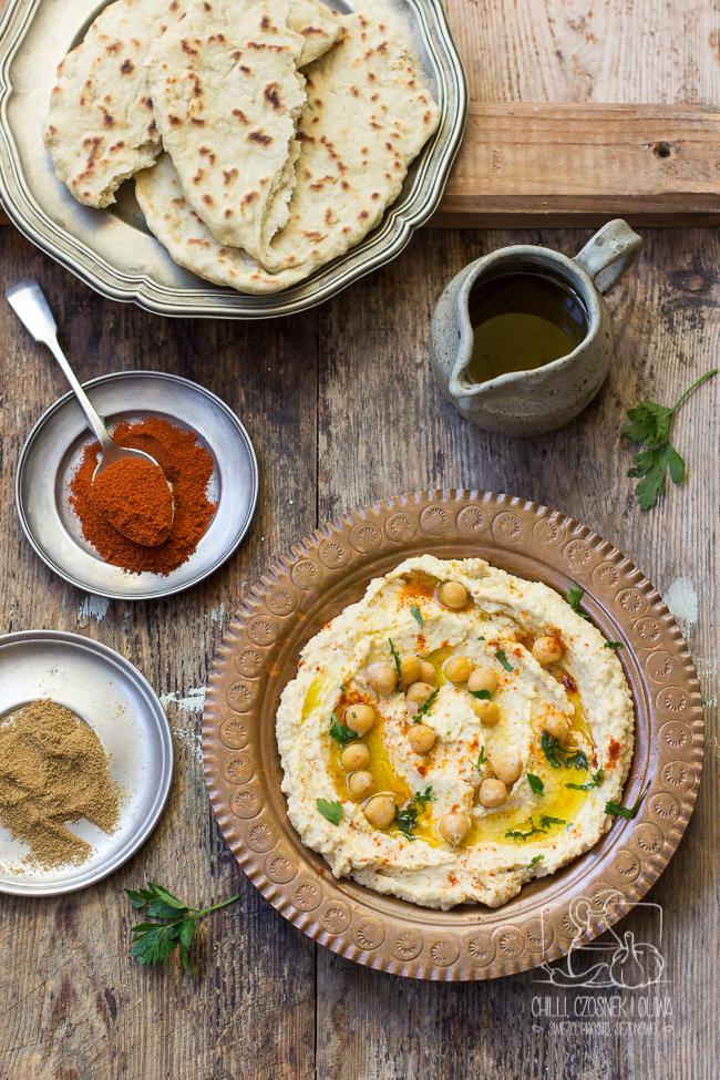 hummus tradycyjny klasyczny libański