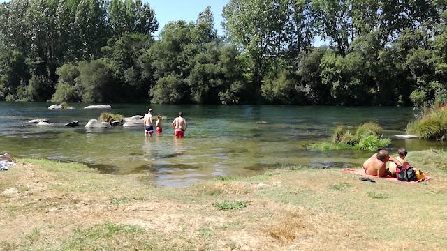 Zona de Banhos da Praia de Navarra
