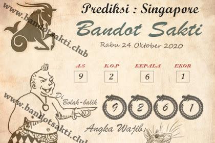 Syair Bandot Sakti Togel Singapore Sabtu 24 Oktober 2020