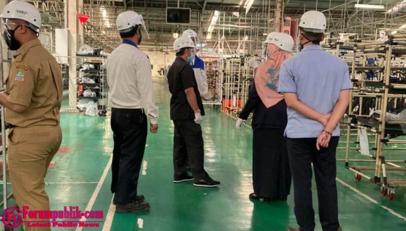 Suzuki Perketat Penyebaran Covid-19 Dengan Mengurangi Kapasitas Produksi Pabrik Tambun I