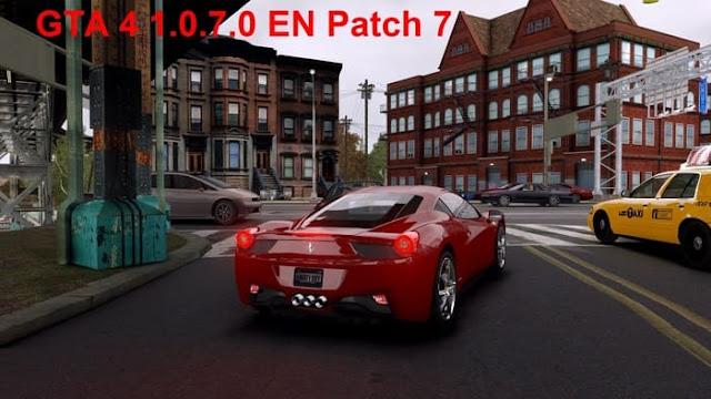 GTA 4 الباتش الرسمي السابع للإصدار 1.0.7.0 النسخة الإنجليزية