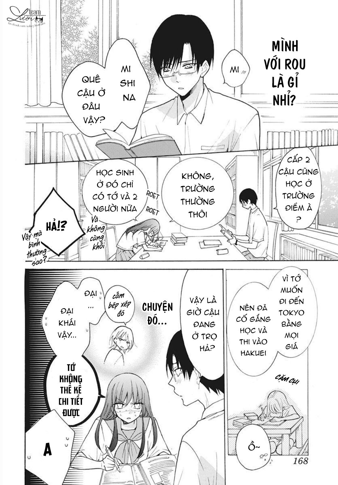 Noraneko to Ookami chap 3 - Trang 26