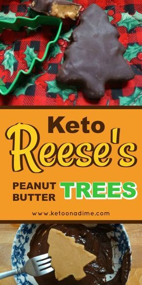 Reese's peanut butter trees are a holiday favorite for me. I always loved getting one of these in my stocking as a kid and putting them in someone else's stocking as an adult. But they are filled with sugar and are not good for the Keto diet. But don't worry, this Keto peanut butter trees recipe is here to the rescue!