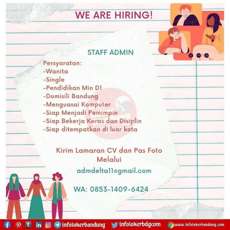 Lowongan Kerja CV. Arthagraha Bandung Agustus 2021