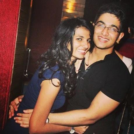 Ranveer Allahbadia with his ex girlfriend Namrata Aurora