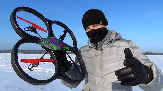 Drone Rp 1 Jutaan yang Bisa Angkut Action Cam (Beserta Gimbal)