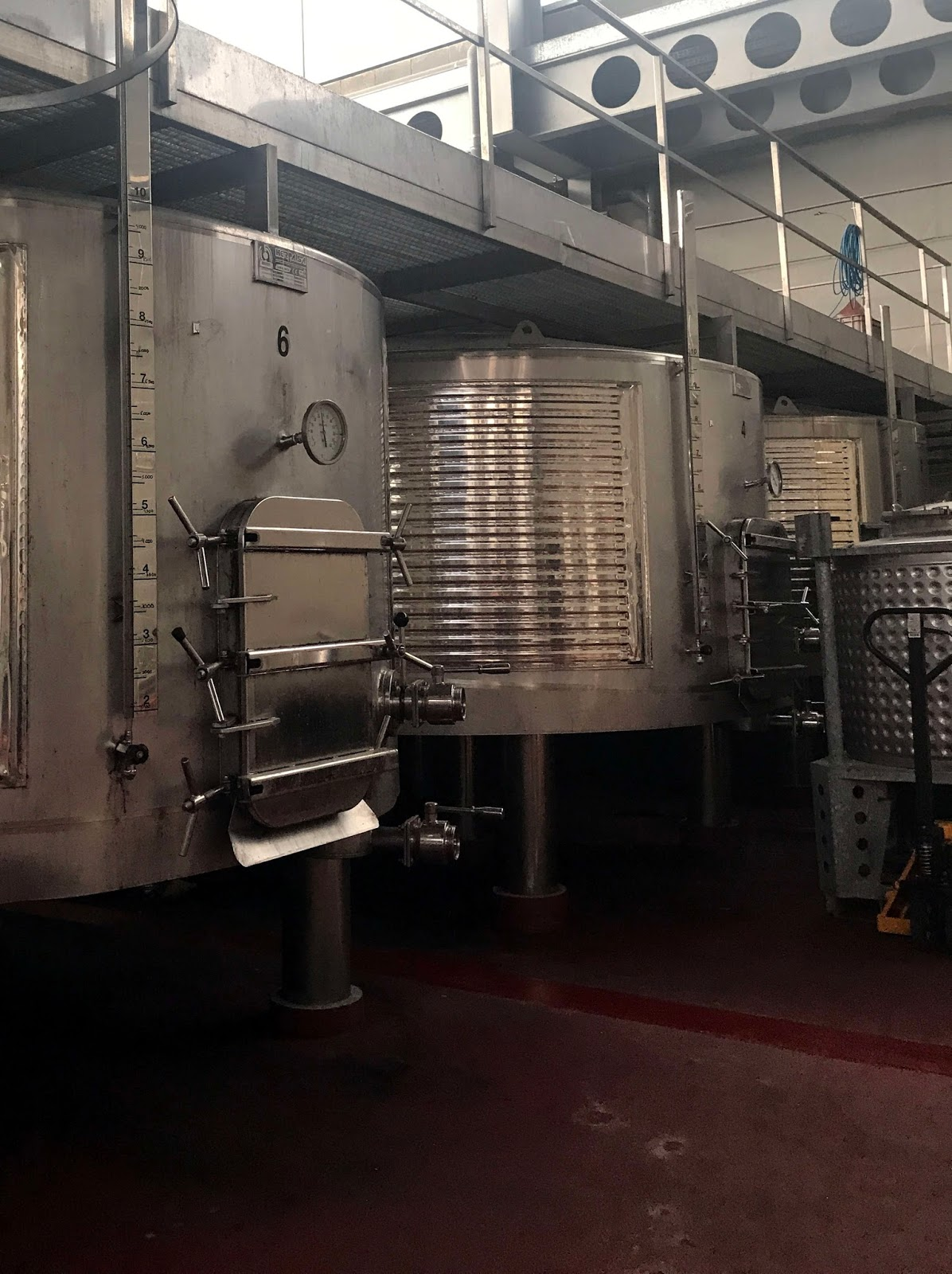Stitch & Bear - Torres Priorat - Inside the winery