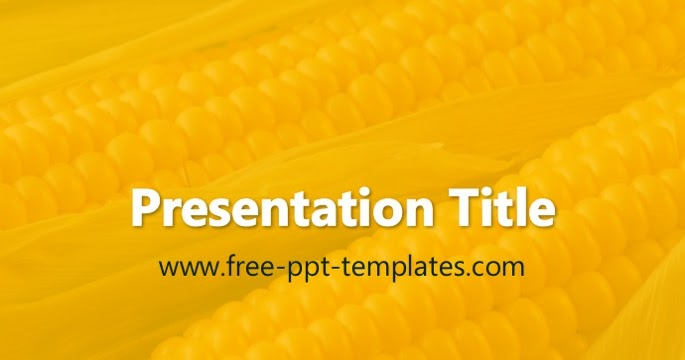 Corn PPT Template