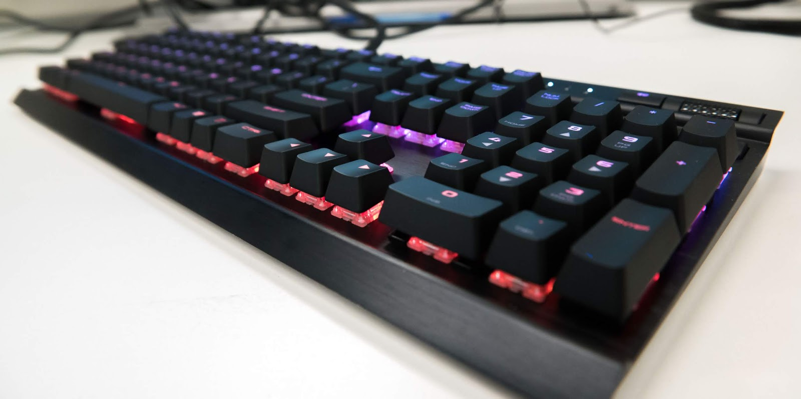 Corsair K70 Rgb Rapidfire Mechanical Keyboard Maz Reviewz