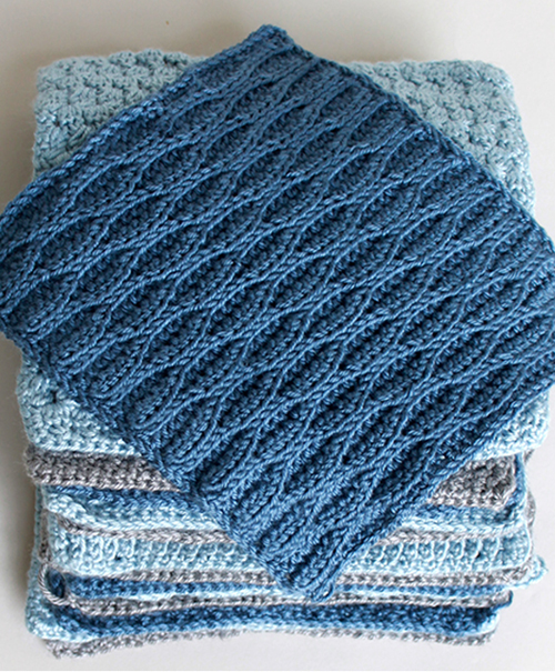 Crochet Along Afghan Sampler - Free Pattern
