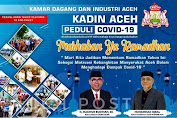 Kadin Aceh Peduli Covid-19 dan Mengucapkan Marhaban Ya Ramadhan