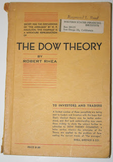 The Dow Theory (1932) by Robert Rhea