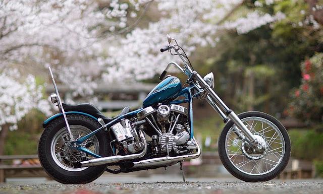 Harley Davidson Panhead By Tsugumi Hell Kustom