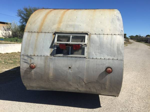 Vintage Small Travel Trailer 1959 Mobile Scout Rv Amp Camper