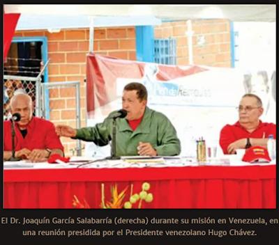 Chávez e Salabarria