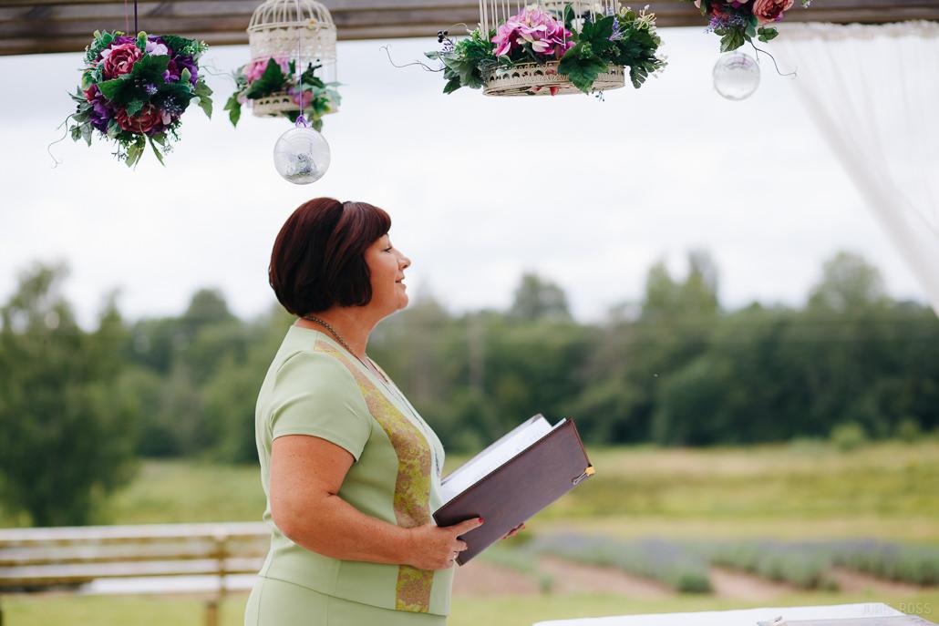 laulību ceremonijas vadītājs