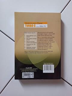 Sinopsis Buku Pemrograman Dasar Turbo C Untuk IBM PC