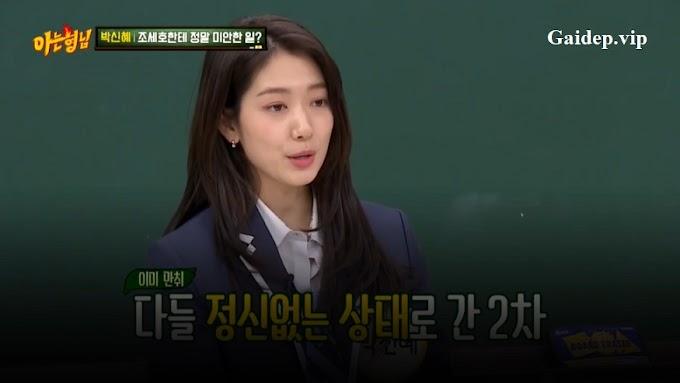 Clip Park Shin Hye phê rượu