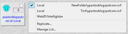 Lotus Notes local replica not updating