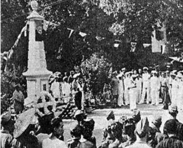 Comemorações da vitória sobre os piratas : 13 Julho 1950