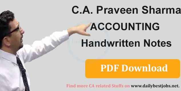 Praveen Sharma Accounts Book Free Download