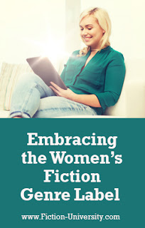 writing women's fiction, genre, chick lit, character-driven novels