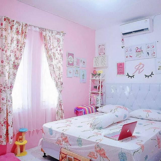 Warna Cat Dinding Kamar Tidur Remaja Perempuan Kekinian