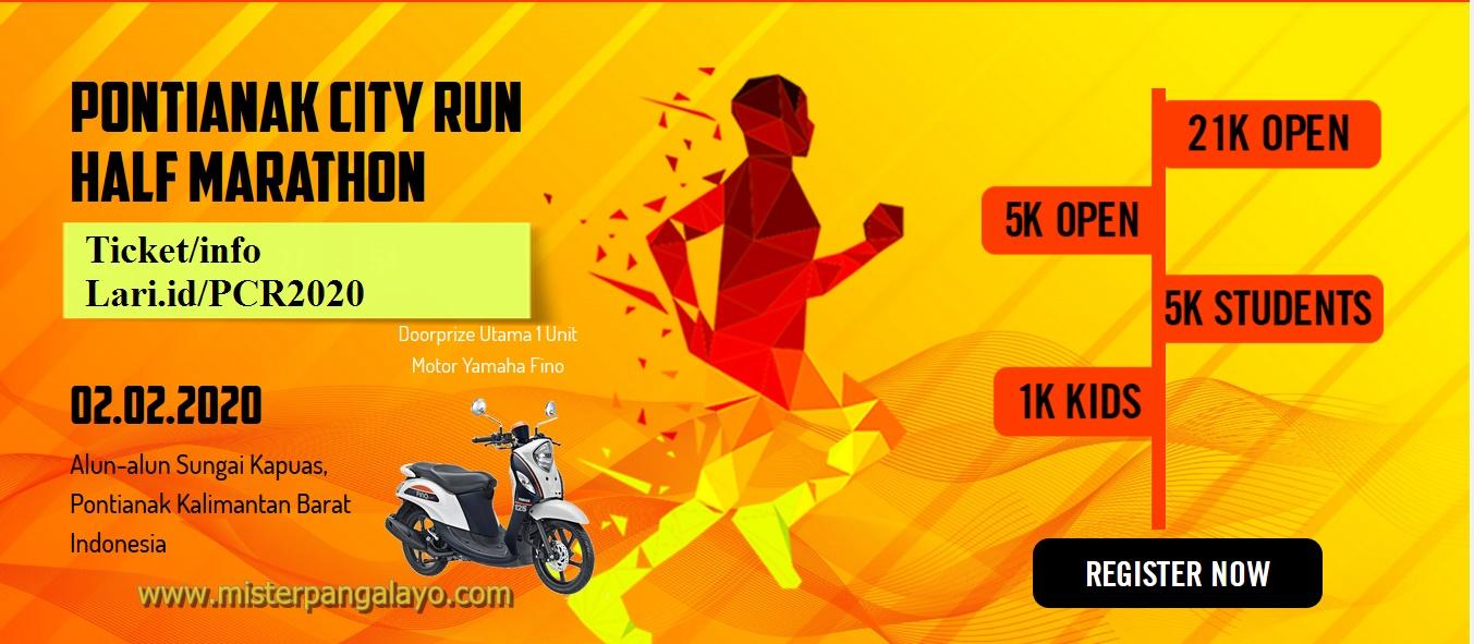 Pontianak City Run 2020, Event Lari Terbesar di Kalbar Kembali Digelar