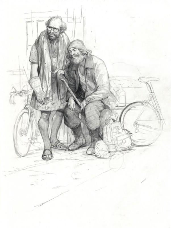 Рисунки Wesley Burt 9