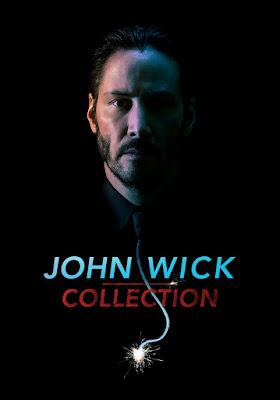 John Wick 3X1 Combo DVD HD Latino
