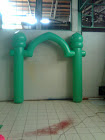 BALON GATE PVC/BALON GAPURA INDOOR