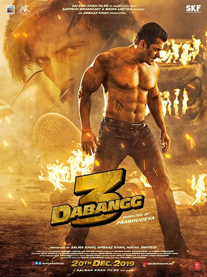 Dabangg 3 2019 Movie 720p HDRip (300mb 480p 900mb 720p )