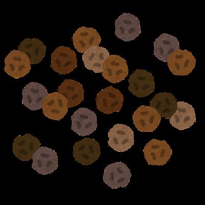 粒胡椒のイラスト
