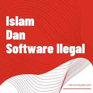 cover Islam dan Software Ilegal