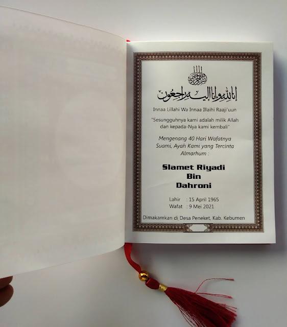 Halaman Mengenang Wafatnya Almarhum/Almarhumah