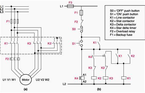 Star Delta Motor Starting Explained, Schneider Star Delta Starter Wiring Diagram